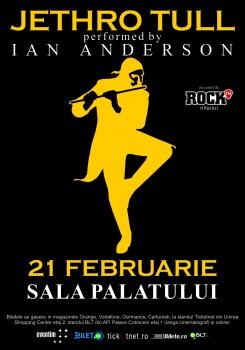 Concert Jethro Tull performed by Ian Anderson la Sala Palatului din Bucureşti