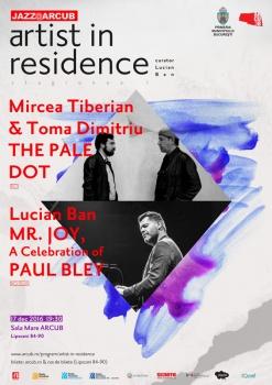 Concert Lucian Ban, Mircea Tiberian şi Toma Dimitriu la Hanul Gabroveni din Bucureşti
