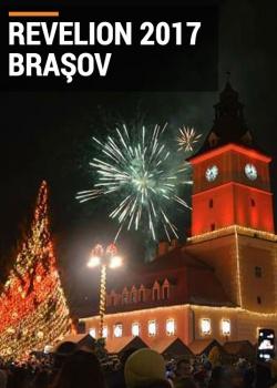 Revelion 2017 în Piaţa Sfatului din Braşov