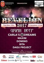 Revelion 2017 în Piaţa Mare din Sibiu