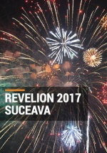 Revelion 2017 în parcarea Iulius Mall din Suceava