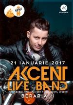 """Concert Akcent & Live Band – """"Lasă-mă aşa"""" la Berăria H din Bucureşti"""
