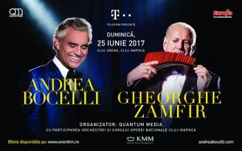 Concert Andrea Bocelli la Cluj Arena din Cluj-Napoca