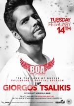 Concert Giorgos Tsalikis în BOA Club din Bucureşti