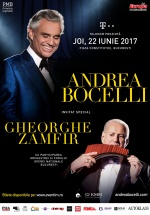 Concert Andrea Bocelli în Piaţa Constituţiei din Bucureşti
