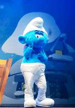 """""""Smurfs Live on Stage"""" la Bucureşti – o producţie de 1 milion de dolari"""