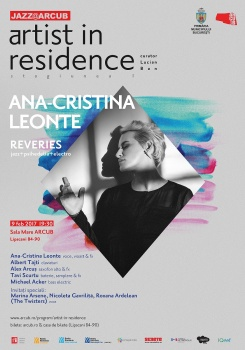 """Concert Ana-Cristina Leonte – """"Reveries"""" la Hanul Gabroveni din Bucureşti"""