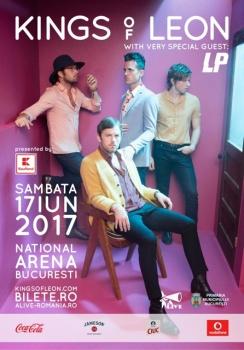 Concert Kings of Leon la Arena Naţională din Bucureşti