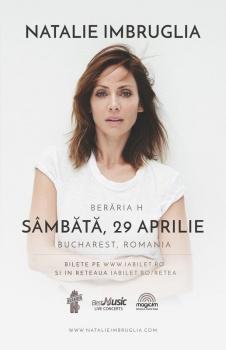 Concert Natalie Imbruglia la Berăria H din Bucureşti