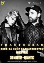 Concert Phantogram în clubul Quantic din Bucureşti