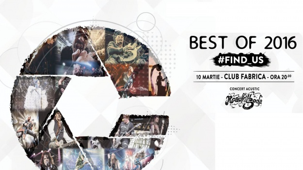 Expoziţie de fotografie de concert #FIND_US – Best of 2016