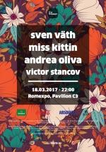 The Mission: Sven Väth, Miss Kittin, Andrea Oliva la Romexpo din Bucureşti
