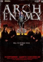 Concert Arch Enemy în Club Quantic din Bucureşti