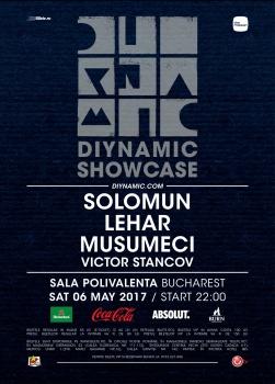 Diynamic Showcase – Solomun, Lehar & Musumeci la Sala Polivalentă din Bucureşti