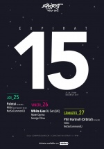 Expirat 15 – DJ Palotai, White Lies (DJ set) şi Phil Hartnoll (DJ set)la Expirat – Halele Carol din Bucureşti