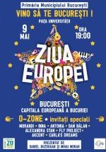 """Ziua Europei – """"Vino să te Bucureşti!"""" în Piaţa Universităţii din Bucureşti"""