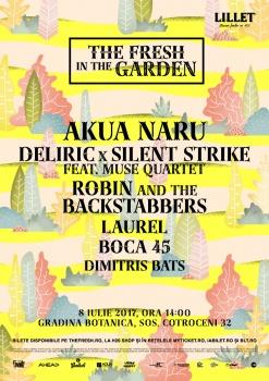 Concert Akua Naru la Grădina Botanică din Bucureşti