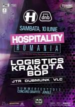 Hospitality România 2017: Logistics, Krakota şi BOP la Arenele Romane din Bucureşti