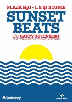 Sunset Beats Vol.1 pe Plaja H2O din Mamaia