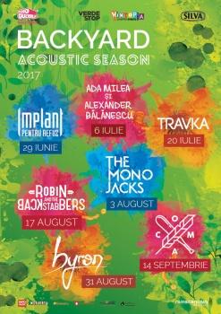 Backyard Acoustic Season la Verde Stop din Bucureşti
