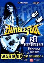 Concert Bumblefoot în club Fabrica din Bucureşti