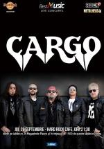Concert CARGO la Hard Rock Cafe din Bucureşti