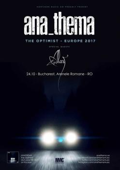 Concert Anathema la Arenele Romane din Bucureşti