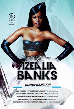 Concert Azealia Banks la Control Club din Bucureşti