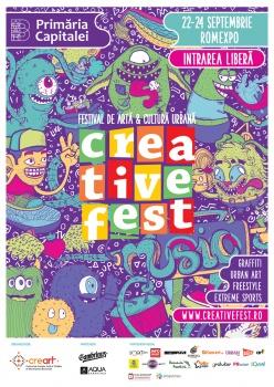 Creative Fest 2017 la Romexpo din Bucureşti