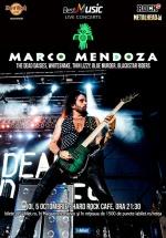 Concert Marco Mendoza la Hard Rock Cafe din București