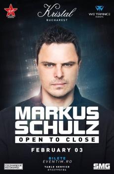 """Markus Schulz – """"Open to Close"""" la Kristal Club din Bucureşti"""