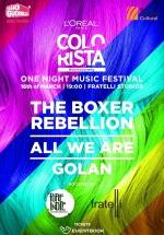 Concert The Boxer Rebellion, All We Are şi Golan în Fratelli Studios din Bucureşti (CONCURS)