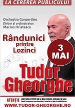 """Concert Tudor Gheorghe – """"Rândunici printre lozinci"""" la Sala Palatului din Bucureşti"""