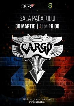 Concert Cargo la Sala Palatului din Bucureşti