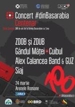 Concert #dinBasarabia – Centenar la Arenele Romane din Bucureşti