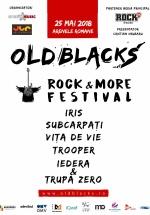 Old Blacks, Rock & More Festival 2018 la Arenele Romane din Bucureşti