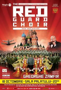 The Red Guard Choir la Sala Palatului din Bucureşti