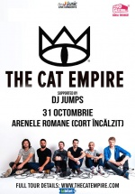 Concert The Cat Empire la Arenele Romane din Bucureşti