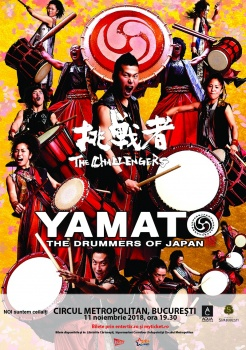 Yamato – The Drummers of Japan la Circul Metropolitan Bucureşti