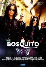 Concert Bosquito la Hard Rock Cafe din Bucureşti