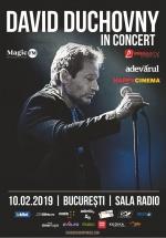 Concert David Duchovny la Sala Radio din Bucureşti