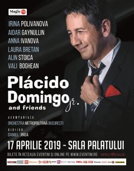 Concert Plácido Domingo Jr. la Sala Palatului din București – ANULAT