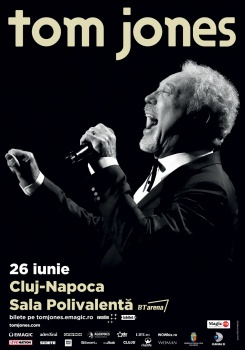 Concert Tom Jones la BT Arena din Cluj-Napoca