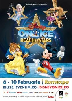 """Disney On Ice – """"Reach For The Stars"""" la Romexpo din Bucureşti"""