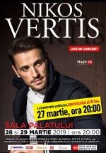 Concert Nikos Vertis la Sala Palatului din Bucureşti
