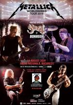 """Concert Metallica – """"Worldwired Tour"""" la Arena Naţională din Bucureşti"""