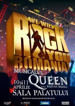 Queen: We Will Rock You la Sala Palatului din Bucureşti