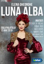 """Concert Elena Gheorghe – """"Lunâ albâ"""" la Sala Palatului din Bucureşti"""