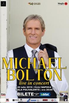 Concert Michael Bolton la Sala Polivalentă din Cluj-Napoca