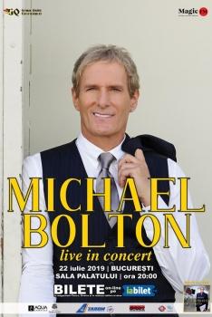 Concert Michael Bolton la Sala Palatului din Bucureşti